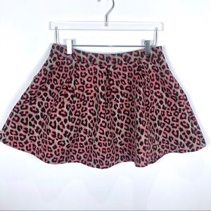 Forever 21 Leopard full skirt